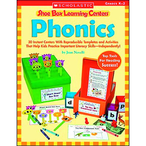 Phonics Shoe Box Learning Center