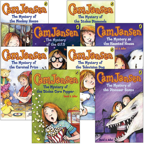 Cam Jansen Books Set 1 - Set of 8