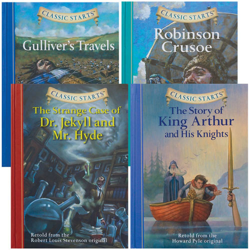Classic Starts Chapter Books - Set of 4