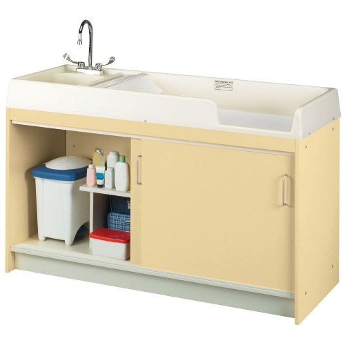 Furniture Changing Stations - Commercial bathroom baby changing table
