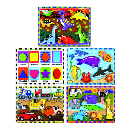 Chunky Puzzles (Set of 5)