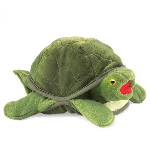 Baby Turtle Hand Puppet