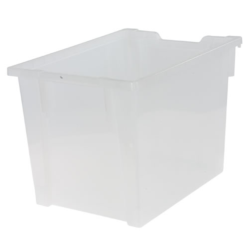 "Gratnell Storage Tray 12"" Deep - Clear"