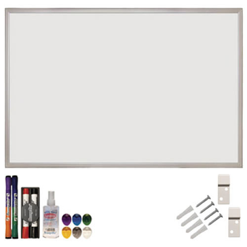 "Magnetic Dry Erase Board Set 24"" x 36"""