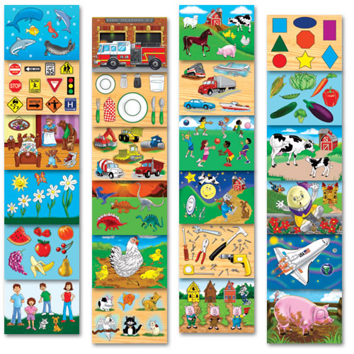 Classroom Essential Puzzles - Set of 24