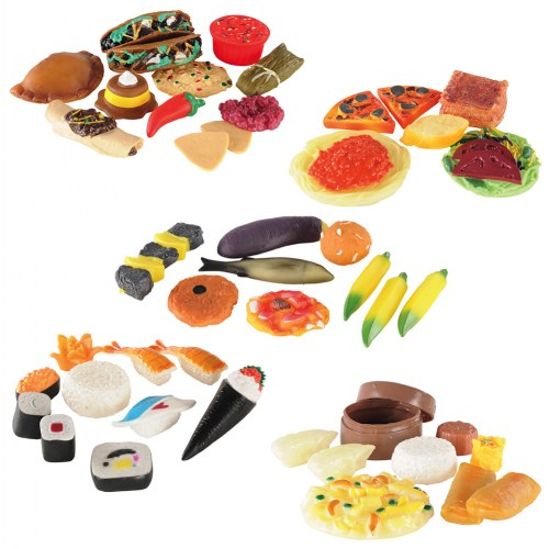 Life-Size Pretend Play International Food Collection