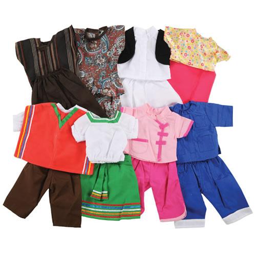 Dressing up dolls for girls