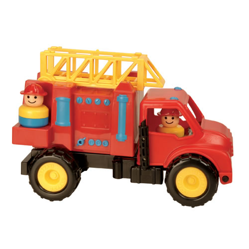 Alternate Image #12 of Toddler Sized We Do The Work Trucks With Movable Parts