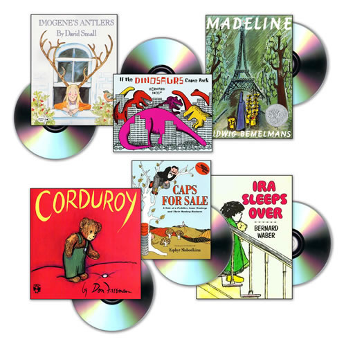 6 Book Titles (4 copies of each) and 6 CD's - Set 1