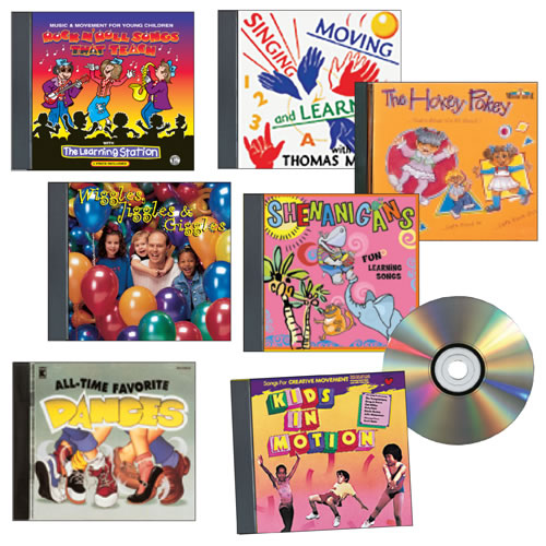 Music for Dance, Movement, and Exercise CD Set