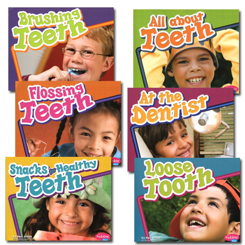 Healthy Teeth Books - Set of 6