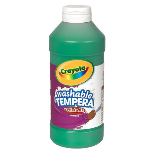 Crayola® Artista ll Washable Tempera Paint (16 oz)