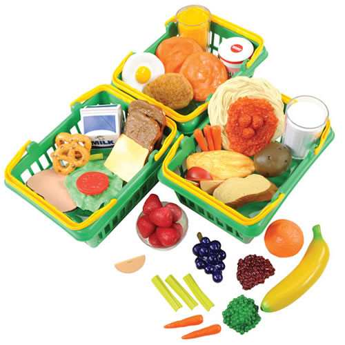 Toy Food For Toddlers : Healthy choices play food set