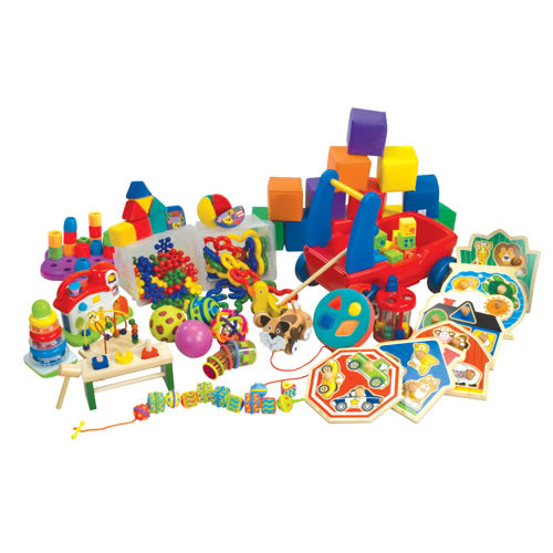 Mobile Infants & Toddlers: Play With Toys Activity Kit