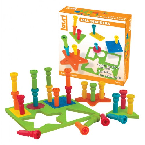 Smart Shapes™ and Stacking Pegs