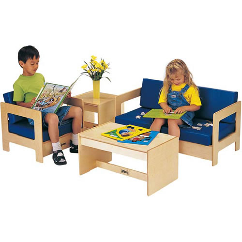 Children's 4-Piece Living Room Set - Blue