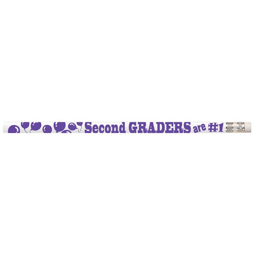 Second Graders are #1 Pencils (box of 12)