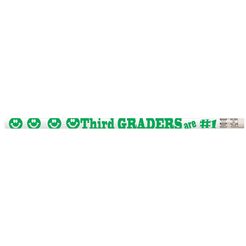 Third Graders are #1 Pencils (box of 12)