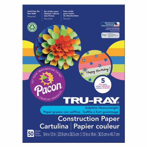 Alternate Image #1 of Tru-Ray® Construction Paper