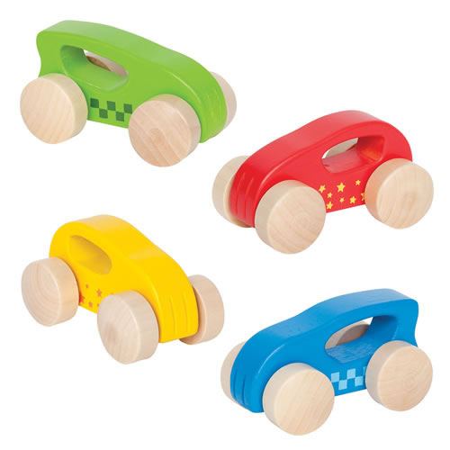 Little Wooden Autos - Set of 4