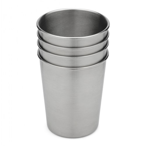 d770fb25ce1 Stainless Steel Toddler Cups (Set of 4)