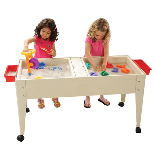 Double Tray Sand & Water Table