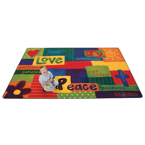 Spiritual Fruit Painted KID$ Value PLUS Rugs
