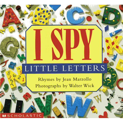 I Spy Little Letters - Board Book