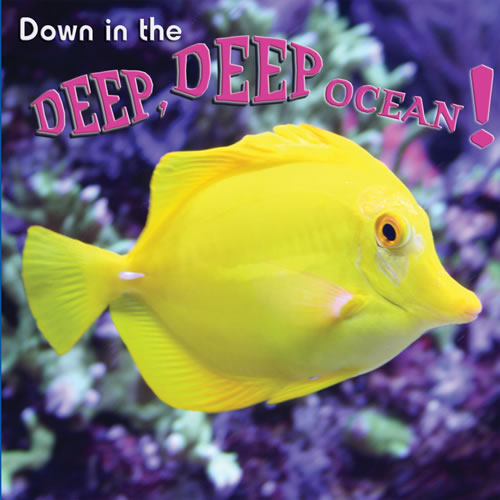 Down in the Deep, Deep Ocean! - Board Book