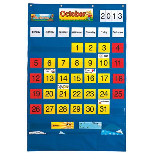 Complete Calendar Pocket Chart
