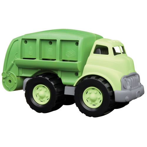 Eco-Friendly Recycling Truck
