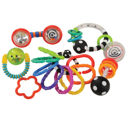 Infant's First Rattle Teether Set