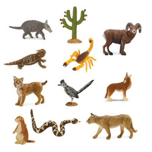 Desert Animal Minis (Set of 11)