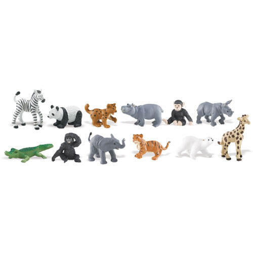 Zoo Babies (Set of 11)