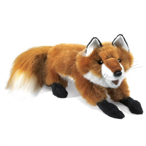 Small Red Fox Hand Puppet