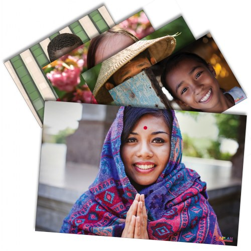 Faces of the World Posters - Set of 12
