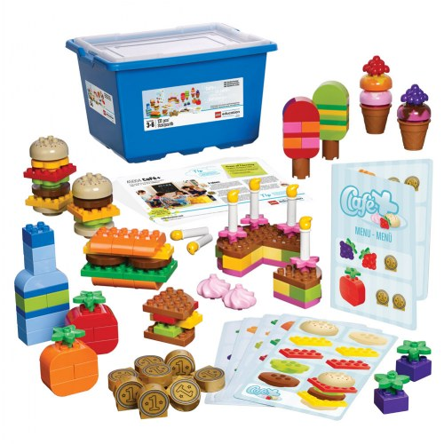 LEGO® DUPLO® Cafe Set with Storage (45004)