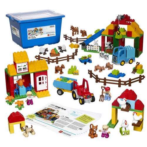 Lego Duplo Large Farm Set 45007