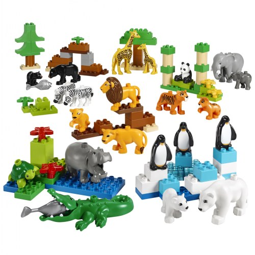 LEGO® DUPLO® Wild Animals Set - 45012