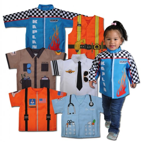 When I Grow Up Career Toddler Polyester Dramatic Play Costumes - Set of 6