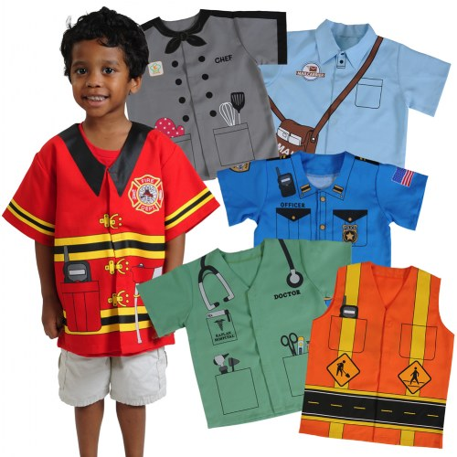 Dress Up Pretend Play Images On: Community Dress-Ups Preschool Set (Set Of 6 Polyester