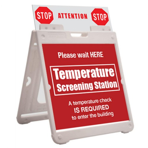 Alternate Image #2 of SimpoSquare™ A Frame Sign Holder