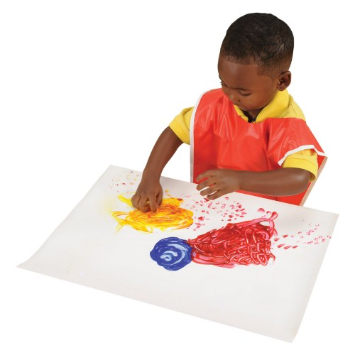 Alternate Image #1 of Fingerpaint Paper - 100 Sheets