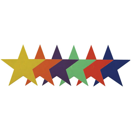 Stars Activity Mats - Set of 6