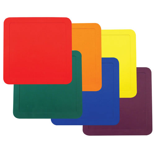 Square Activity Mats - Set of 6