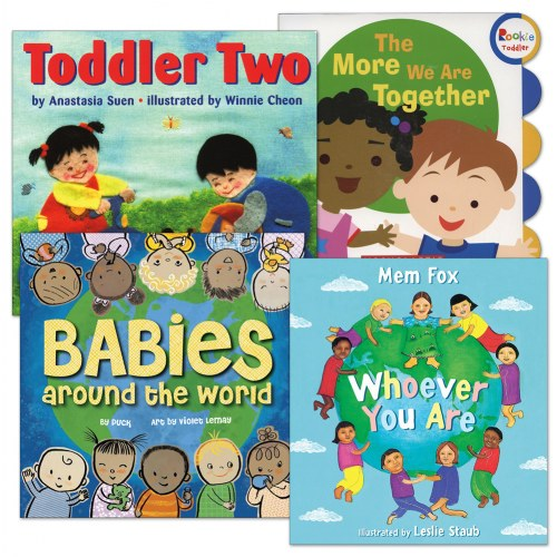Our World Board Book Set - Set of 4