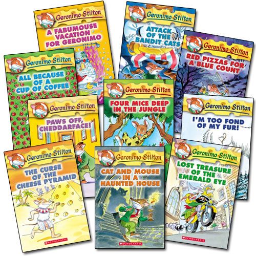 Geronimo Stilton Books - Set of 10