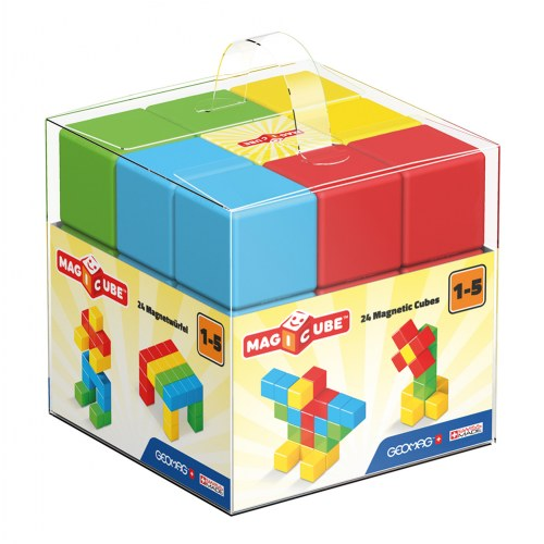 Magicube Free Building Set - 24 Magnetic Blocks
