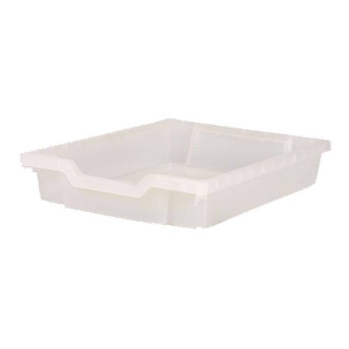 "Gratnell Storage Tray 3"" Deep - Clear"