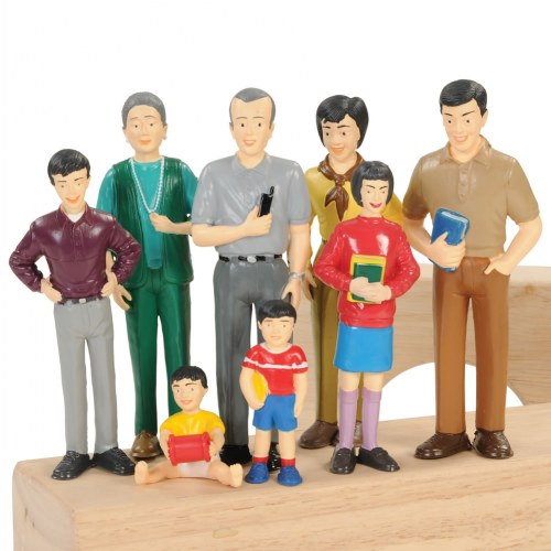 Family Play Set Asian